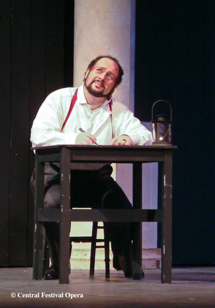 """30 year Retrospective"" 2004 Cavaradossi in Tosca"