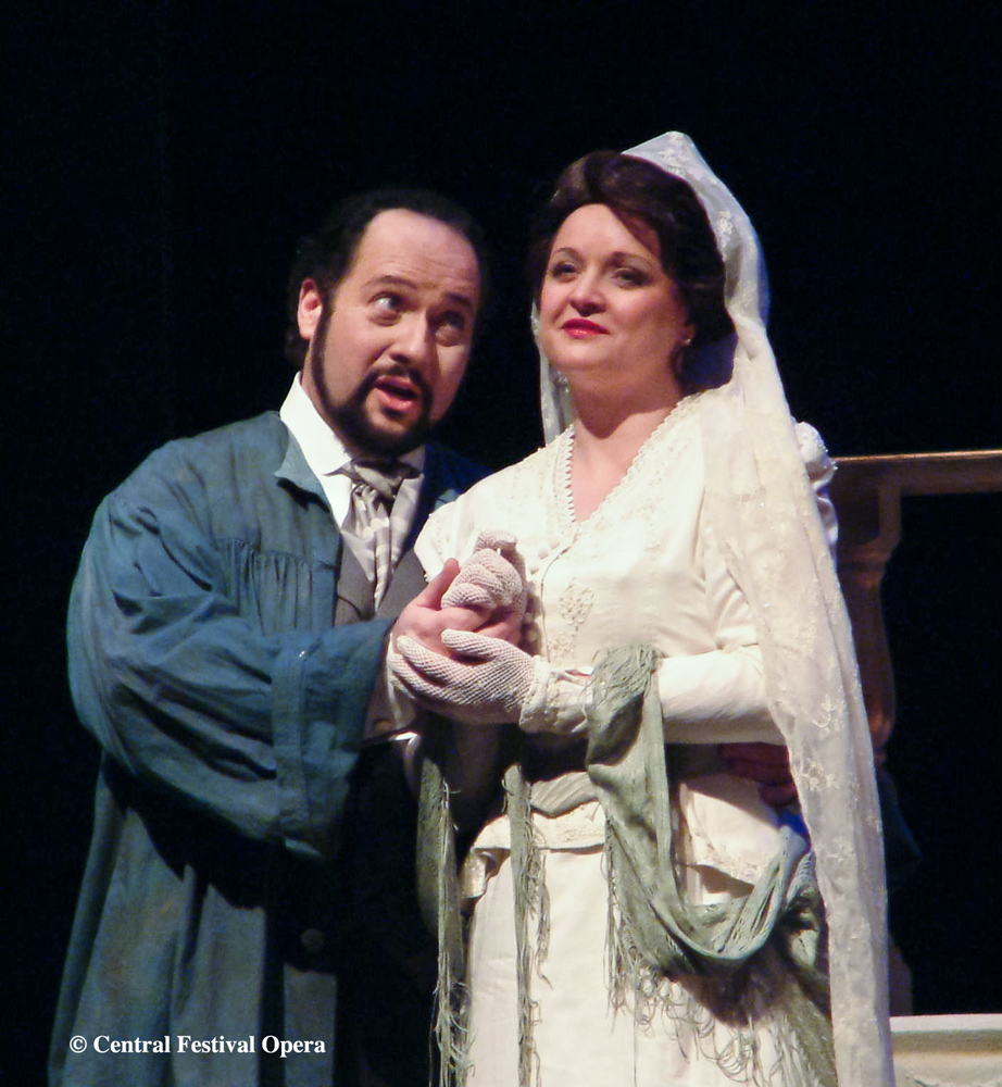 Cavaradossi in Tosca with Constance Novis