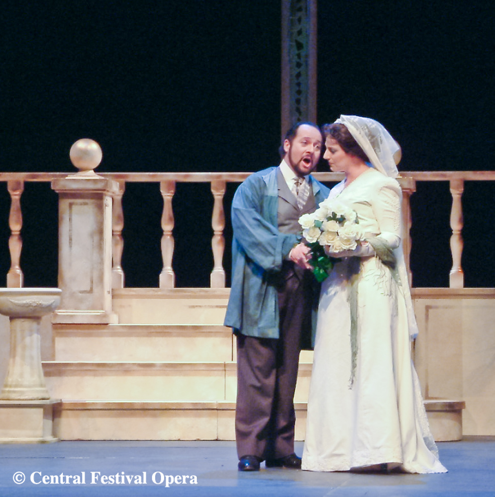 """30 year Retrospective"" 2004 Cavaradossi in Tosca with Amanda Echalaz"