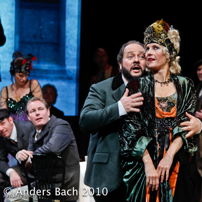 Des Grieux in Manon Lescaut Danish National Opera with Eline Denice Risager