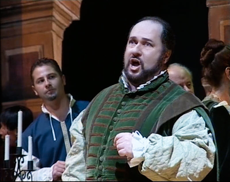 Duca in Rigoletto Act 1
