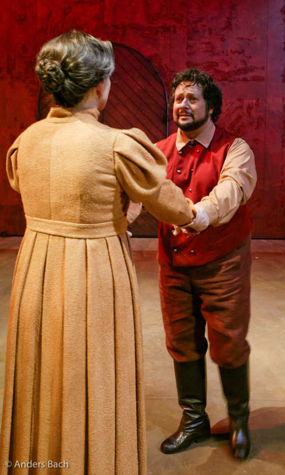 Turiddu in Cavalleria Rusticana (photo: © Anders Bach)