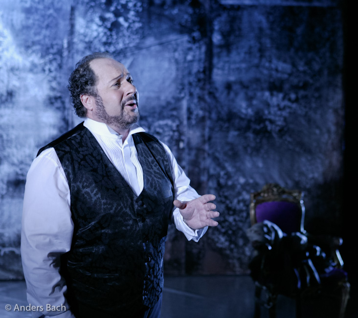 Duca in Rigoletto © Anders Bach